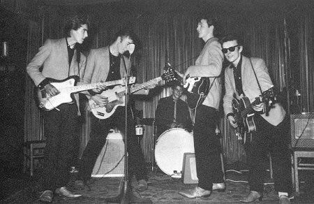 Beatles at the Indra Club, Hamburg, Germany