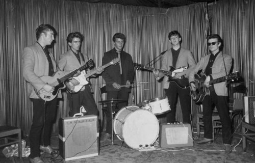 Beatles at the Indra Club, Hamburg, Germany