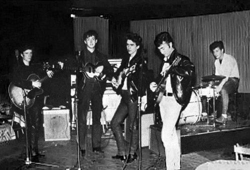 Beatles at the вверх Ten Club