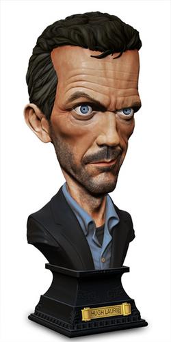 Caricature Hugh Laurie