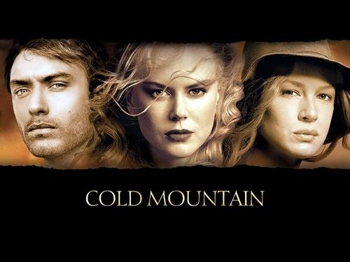 Cold Mountain karatasi la kupamba ukuta