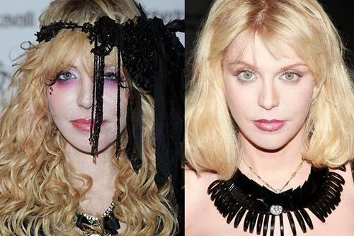 Courtney Love(Before, After/Makeover)