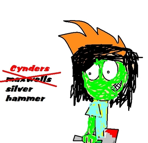 Cynders si;ver hammer?