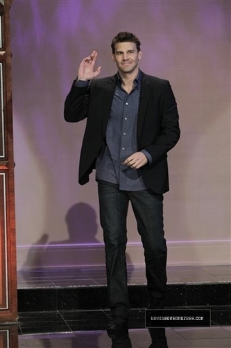 DAVID BOREANAZ-The Tonight Show with Jay Leno