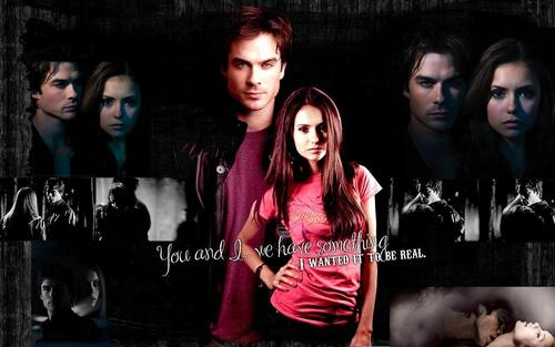 The Vampire Diaries Couples wallpaper entitled DE <33