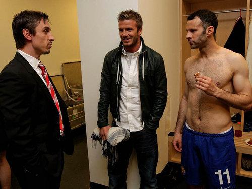 Neville, Beckham & Giggs