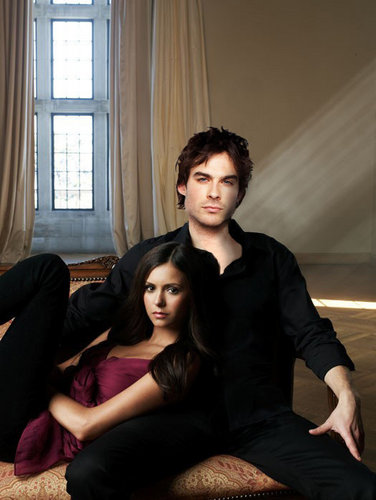 The Vampire Diaries Couples 바탕화면 called Delena ♥