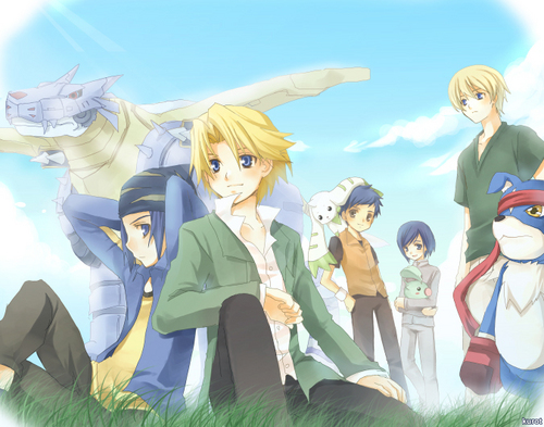 Digimon Adventure Side B par kurot