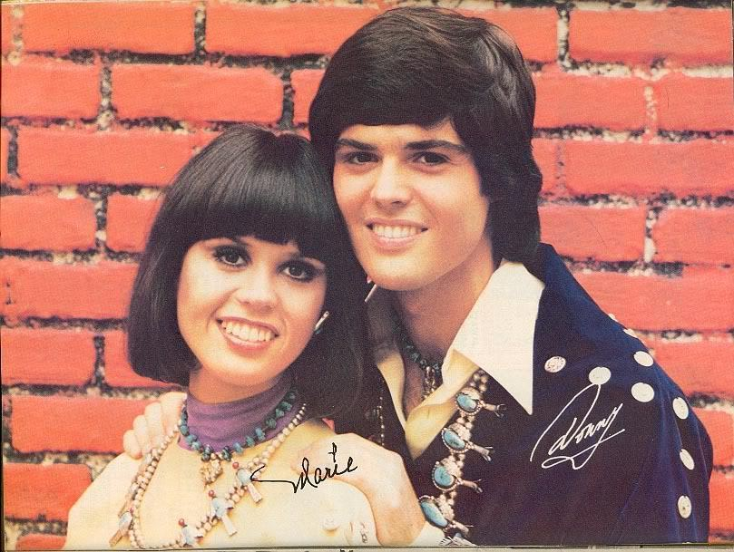 Donny & Marie Osmond - Ain't Nothing Like The Real Thing / Sing