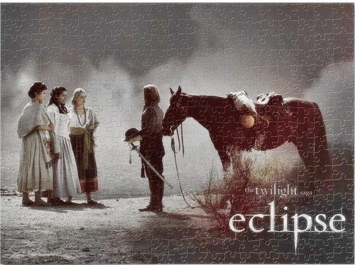 Eclipse scene (Jigsaw image)