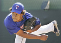 Edinson Volquez - texas-rangers photo