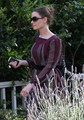 Emily DeschanelAttending Amy Adam's Baby Shower In Brentwood - emily-deschanel photo