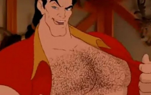 Gaston being sexy
