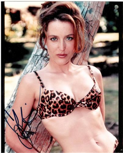 Gillian Anderson wolpeyper titled Gillian