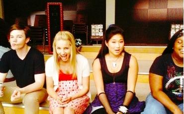 Stelena Fangirls fond d'écran entitled Glee♥.