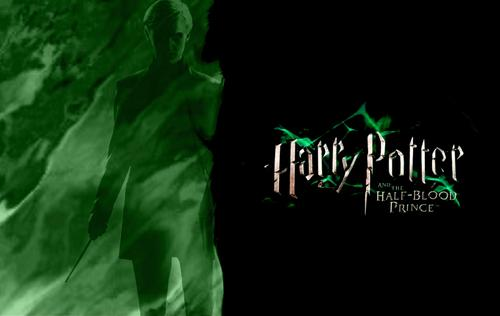 Harry Potter and the Half-Blood Prince Wallpaper featuring Draco Malfoy