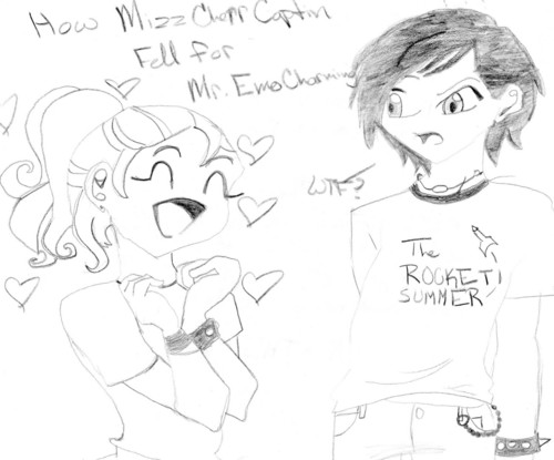 How Mizz.Preppy Pricess fell for Mr.Emo Charming.