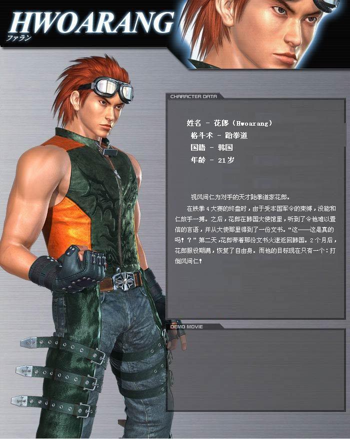 Hwoarang - Tekken-HWOARANG Photo (12671765) - Fanpop
