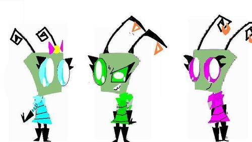 Invaderzimrox's Characters