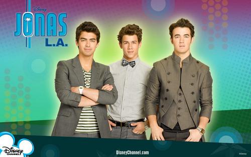 The Jonas Brothers wallpaper entitled JONAS LA