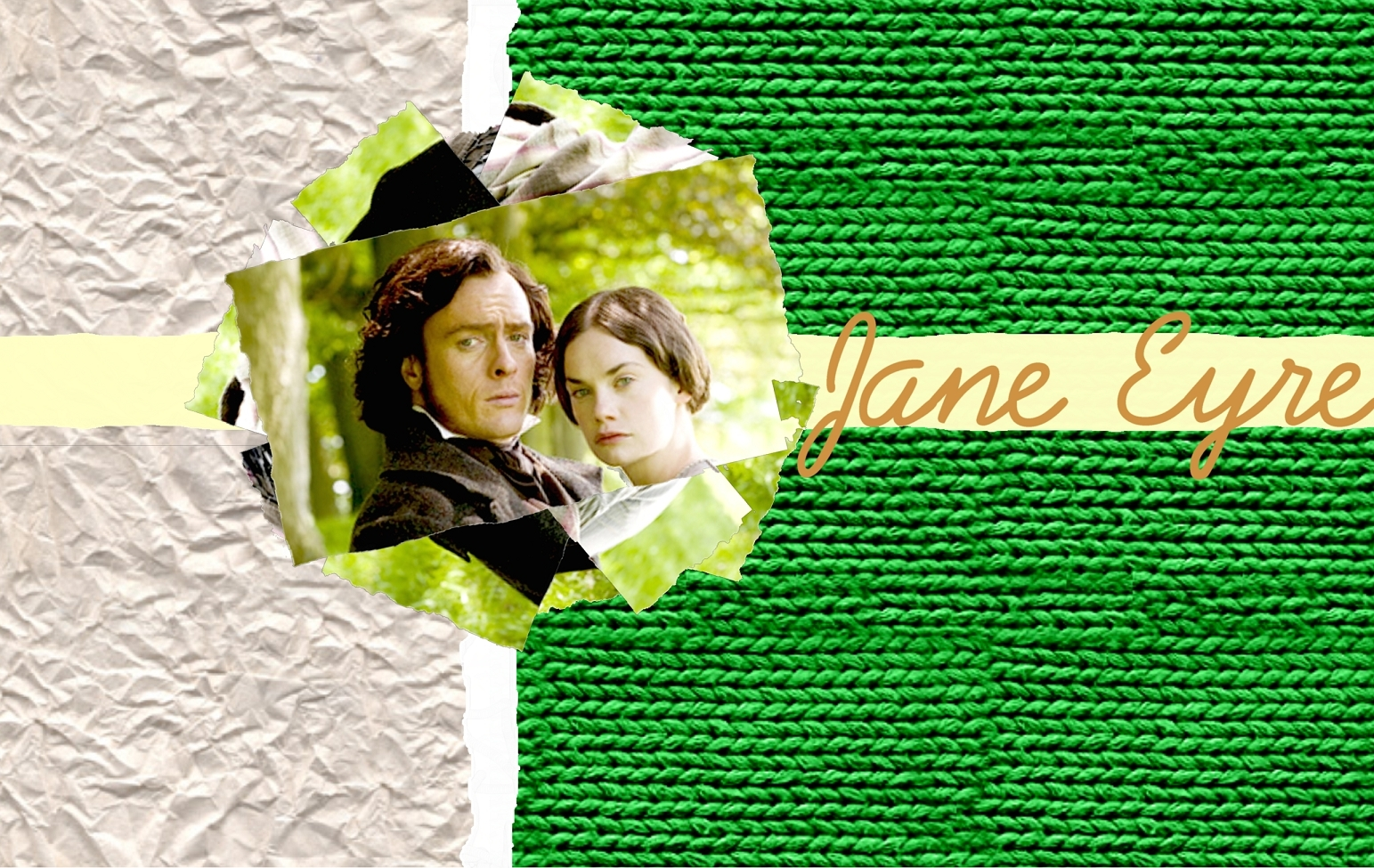 Jane Eyre দেওয়ালপত্র featuring Toby Stephens and Ruth Wilson