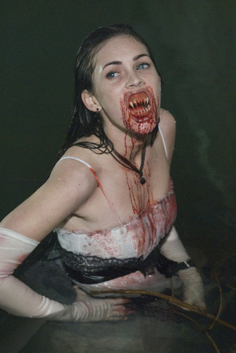 Horror films achtergrond titled Jennifers Body