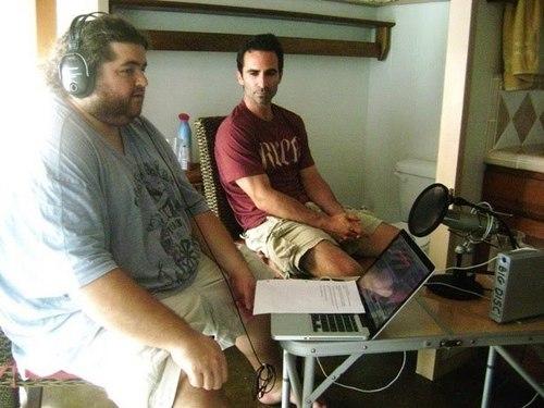 Jorge Garcia+Nestor Carbonell