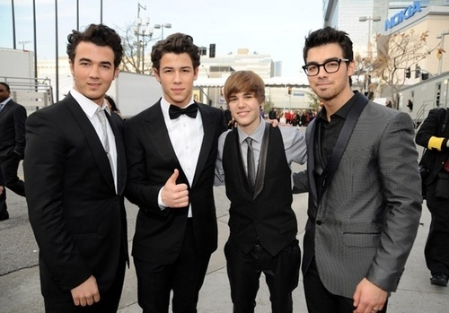 Justin w/ the JoBros