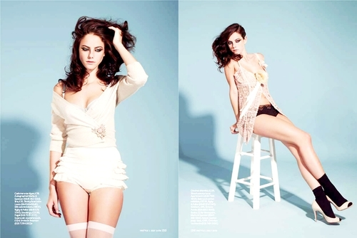 Kaya In Instyle July 2010