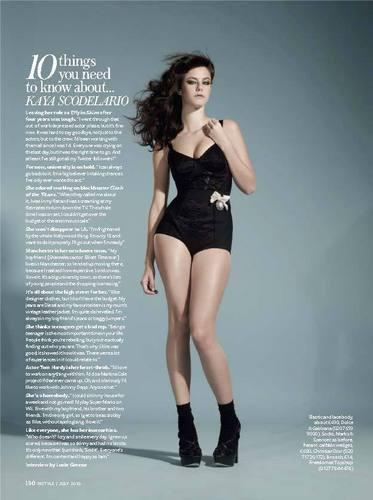 Kaya/In Style Magazine.