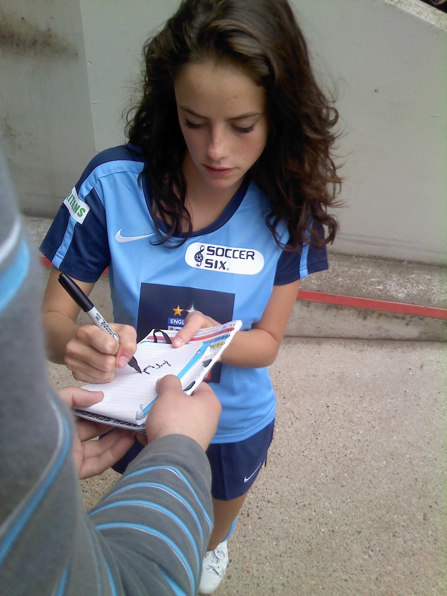 Kaya at Soccer Six