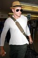 Kellan Lutz LAX Airport - 30 May 2010 - twilight-series photo