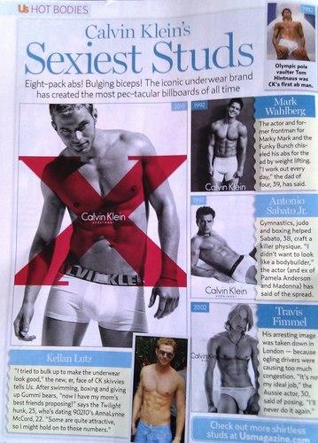 """Kellan in Us Weekly's """"Calvin Klein's Sexiest Studs"""" – Scan"""