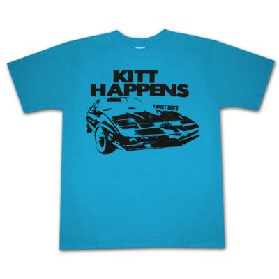 Kitt Happens Knight Rider T-Shirt