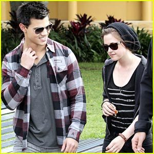 Kristen Stewart & Taylor Lautner: Good dag Sydney!