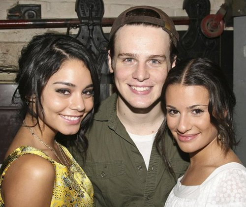 Lea and Jon with Vanessa Hudgens