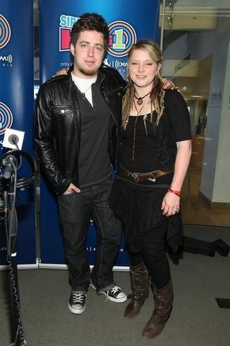 Lee & Crystal @ the Sirius XM Studio