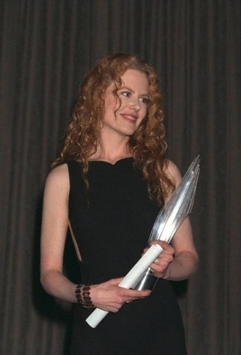"Nicole Kidman - Londres Critics cercle Awards Actress of the an for ""To Die For"""