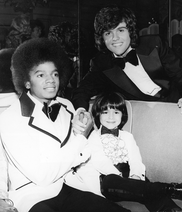 MIchael with Donny Osmond