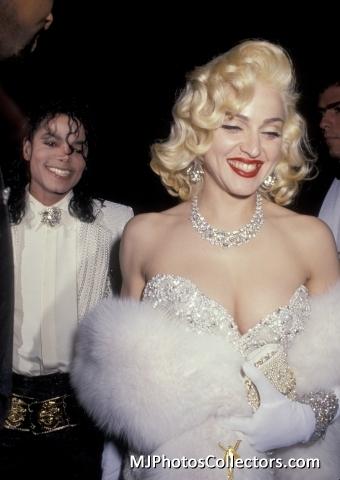 MJ & madonna