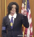 Michael at the court - michael-jackson photo