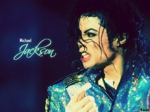 Dangerous era 바탕화면 entitled Michael