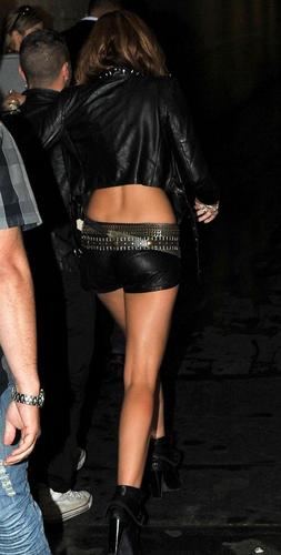 Miley Cyrus out in Paris for her special performance (June 1).