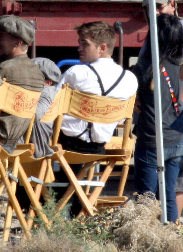 Mehr WFE Set Pics of Rob