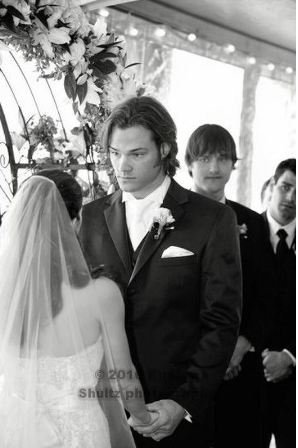 Jared Padalecki & Genevieve Cortese wallpaper called Mr & Mrs Padalecki