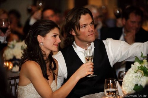 Jared Padalecki & Genevieve Cortese wallpaper entitled Mr & Mrs Padalecki