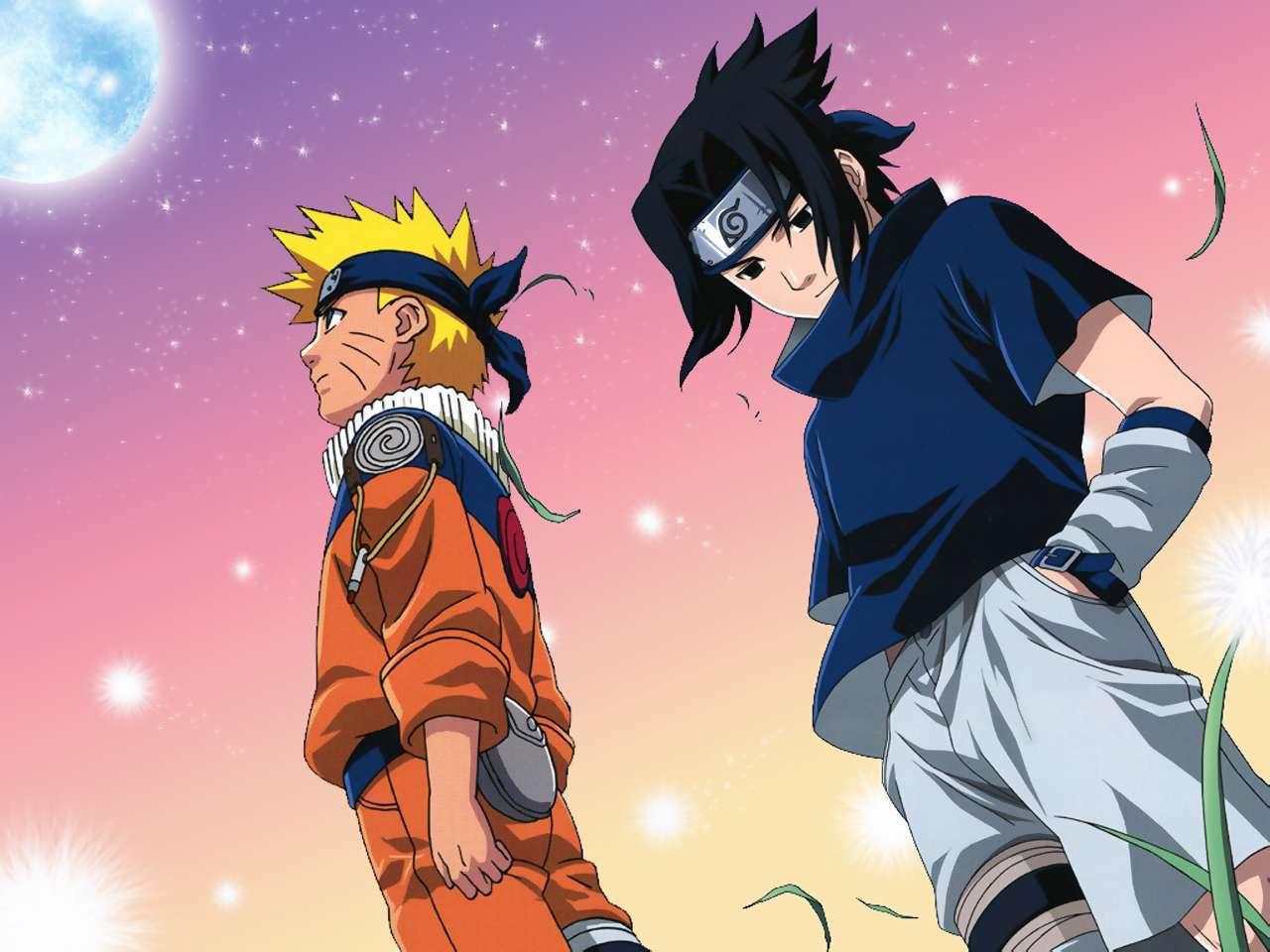 Uzumaki Naruto Sasuke