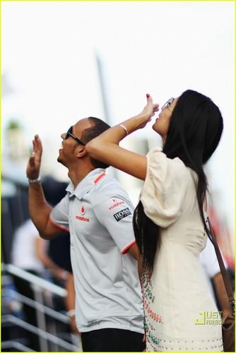 Nicole Scherzinger & Lewis Hamilton Take Turkey
