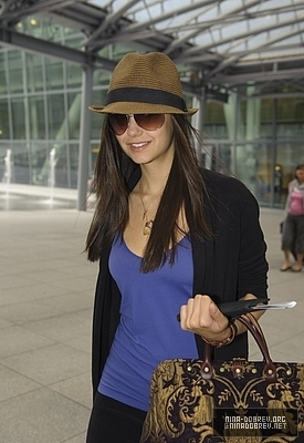Nina Arriving @ Heathrow Airport