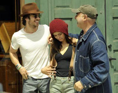 Nina & Ian out in Venice, CA